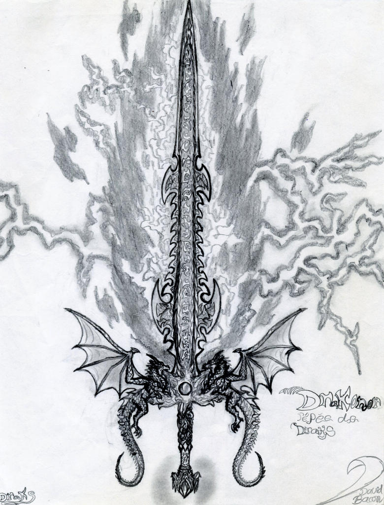 Drakonor the sword of Draks by draks
