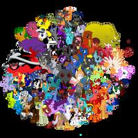 TRC Wiki background cluster by X-BIRT