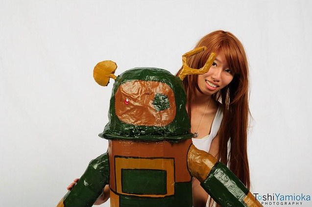 clannad ushio and robot - photo #6