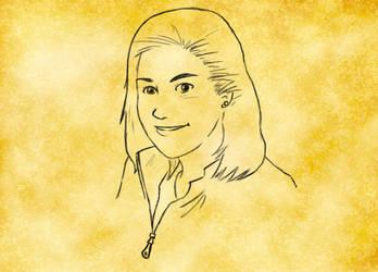Jen Portrait by KuraiKaze