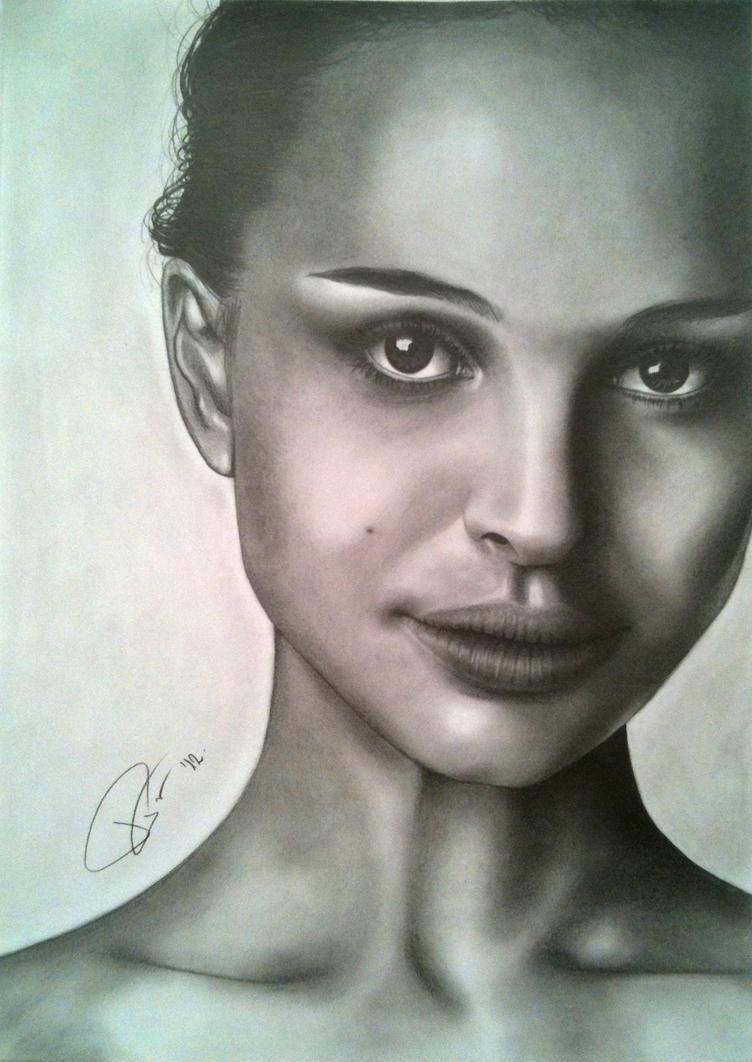 Natalie Portman by Punt-Art