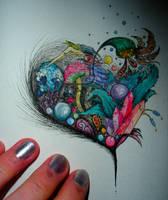Ectoheart -Colour- by Kaleido-Pixy