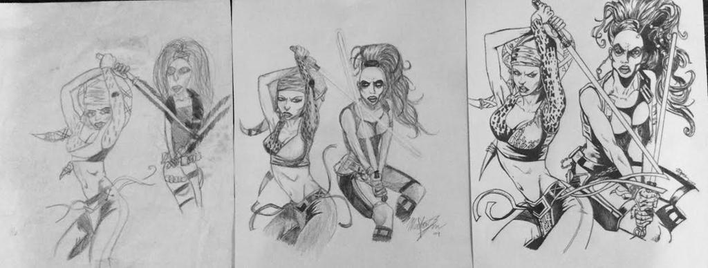 Art Progression by LoveLikePoetry1