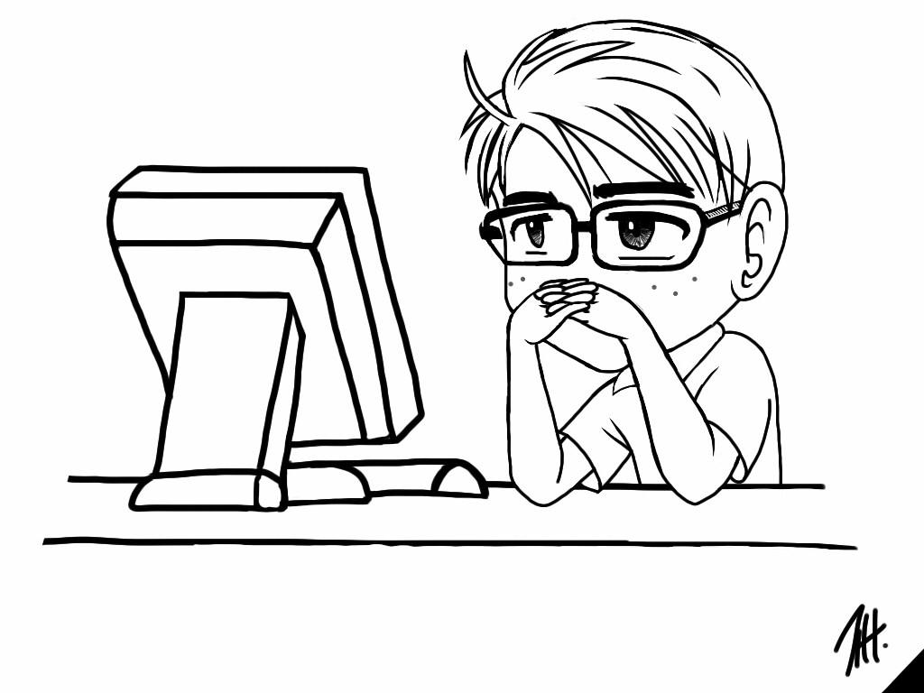 9gag Meme Jeff Sitting In Front Of Computer By Jeff1u