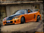 Honda S2000 Orange Warriror