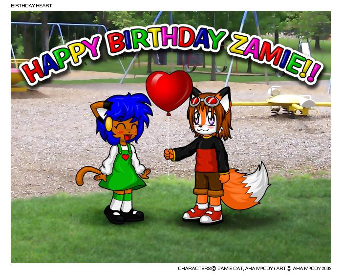 Birthday Heart by aha-mccoy