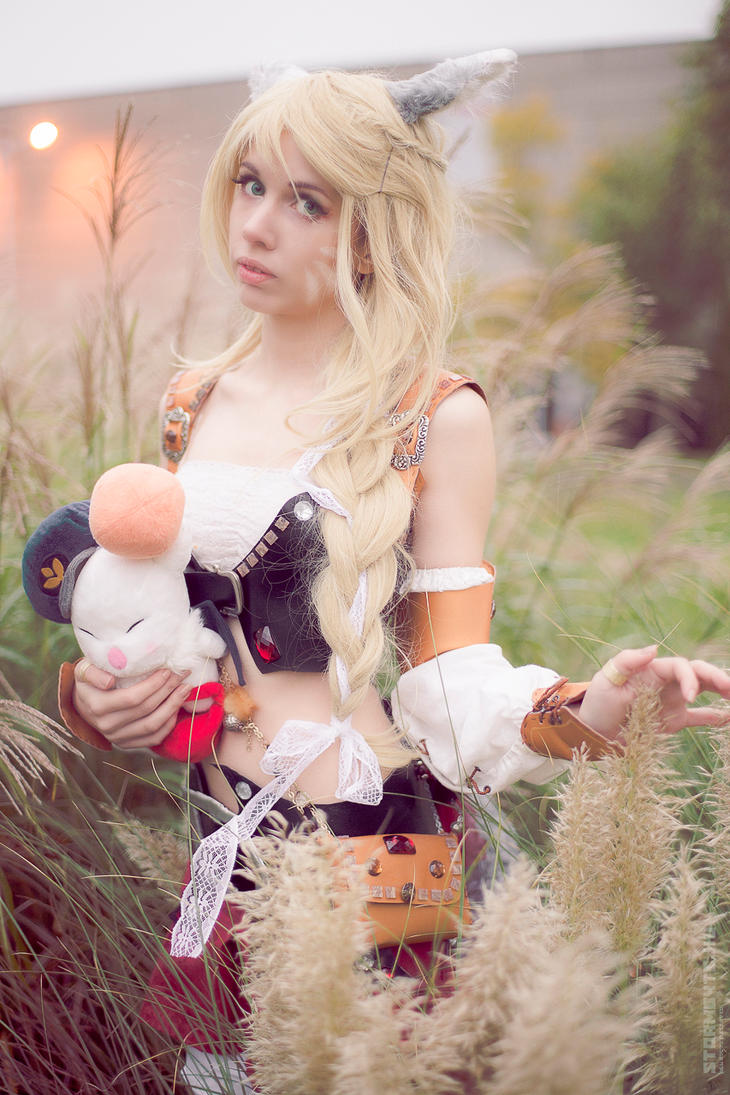 Autumn - Miqote - Final Fantasy XIV by Miss-Fairy-Floss