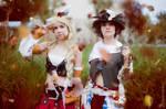 Bard  and  Miqo'te - Final Fantasy XIV