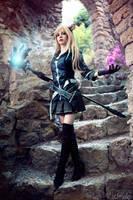 Miqo'te - Black Mage - Final Fantasy XIV by Miss-Fairy-Floss
