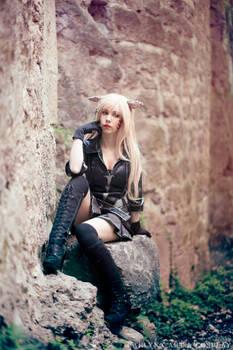 Miqo'te - Black Mage - Final Fantasy XIV