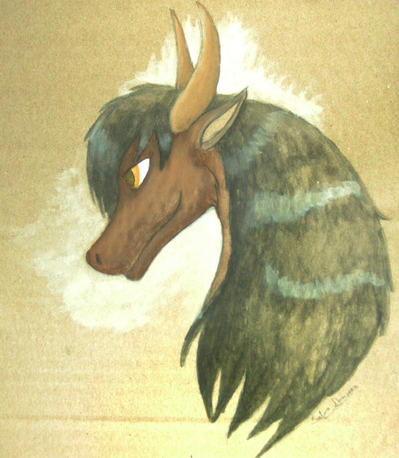 Immortal Dragon by YamiSelina