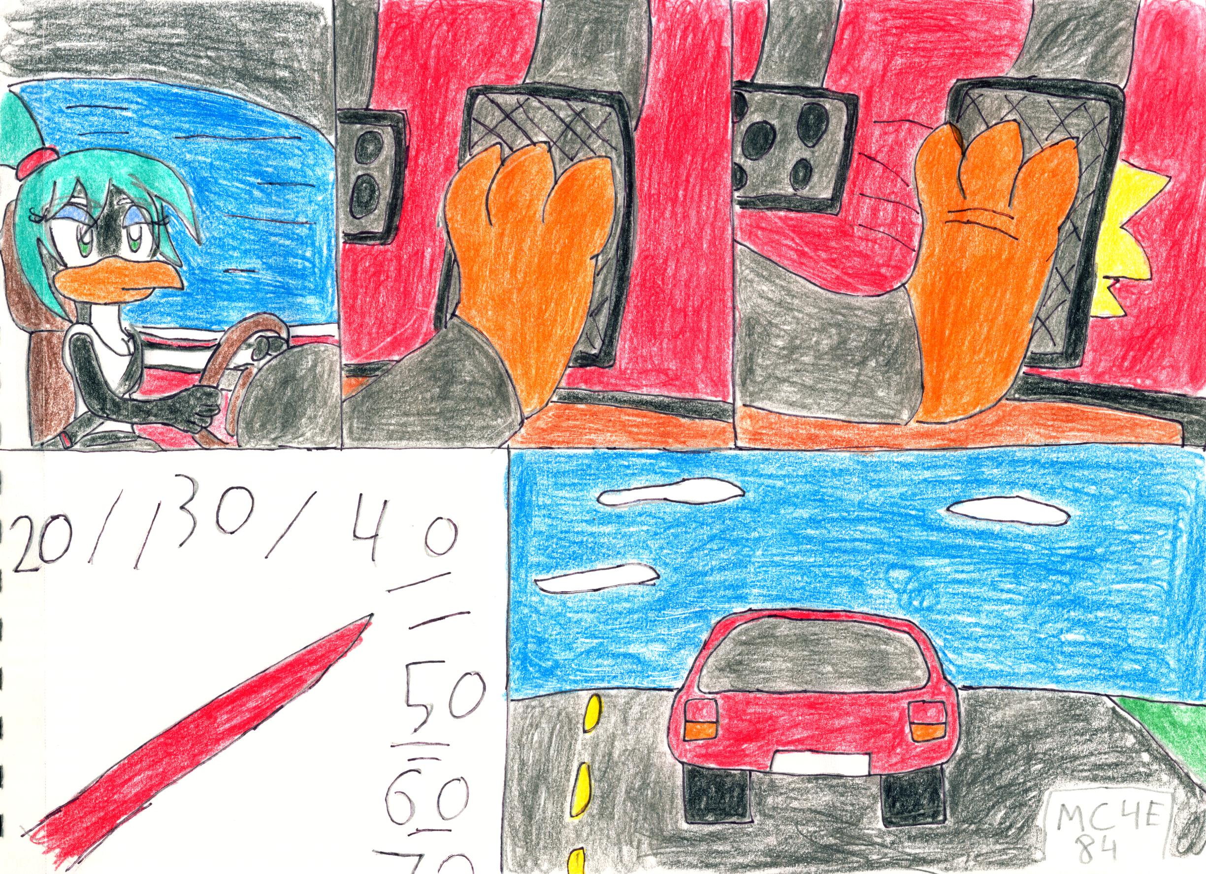 Pedal Pumping Flooring : Juley driving and flooring it by mc e on deviantart