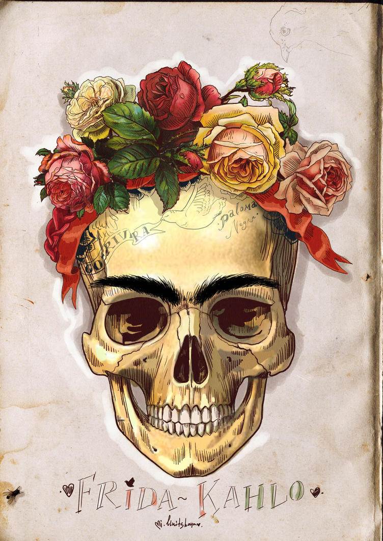 Frida Kahlo last portrait by MilkyName