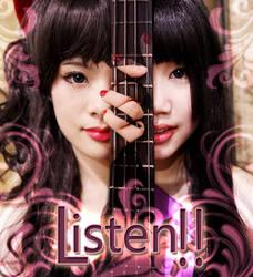 K-on: Listen: Mio x Mio by valxonia