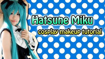 Miku Makeup Tutorial by valxonia