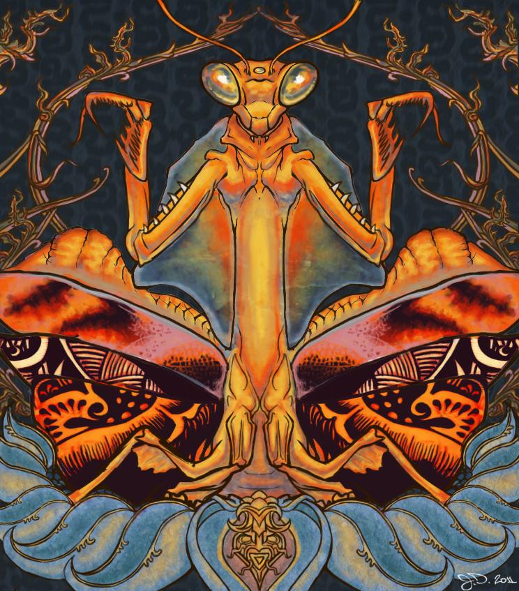 Dead Leaf Mantis by Zehful