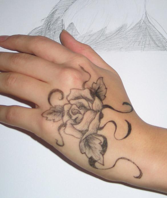 Body Art: Rose By Melodramaniac On DeviantArt