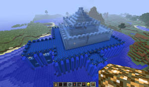 Minecraft Water Castle -FINISHED