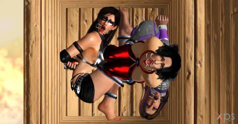 Special Delivery - Three Heroines by killadogg