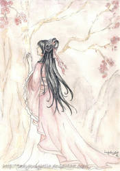 Cherry blossom - Saiunkoku Monogatari by LadyKnightLia
