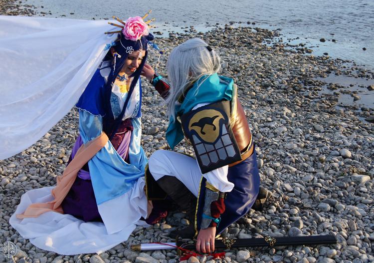 Shuurei and Seiran by LadyKnightLia