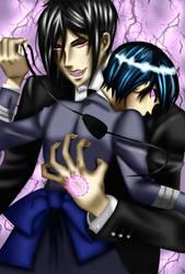 Sebastian and Ciel by MurasakixHime