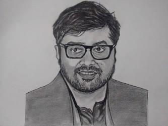 Anurag Kashyap by AshwinMathuria