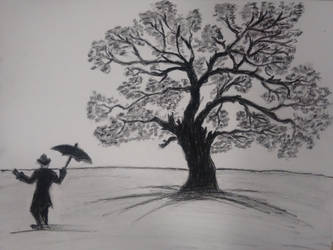 Just You And me.. Charcoal Practice- 2 by AshwinMathuria