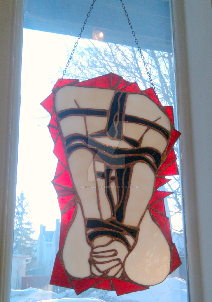 'ZIA'...Erotic Stained Glass by StaindShardStudio