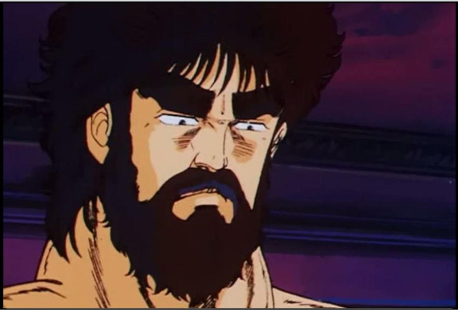 Anime Beard: Kenshiro With Beard In HNK2 By Hsu-Hao-the-renegade On