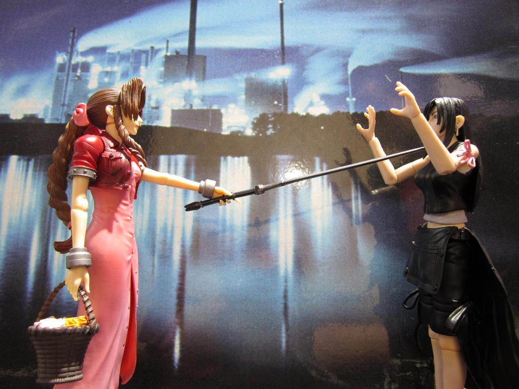 Aeris vs Tifa by Hsu-Hao-the-renegade