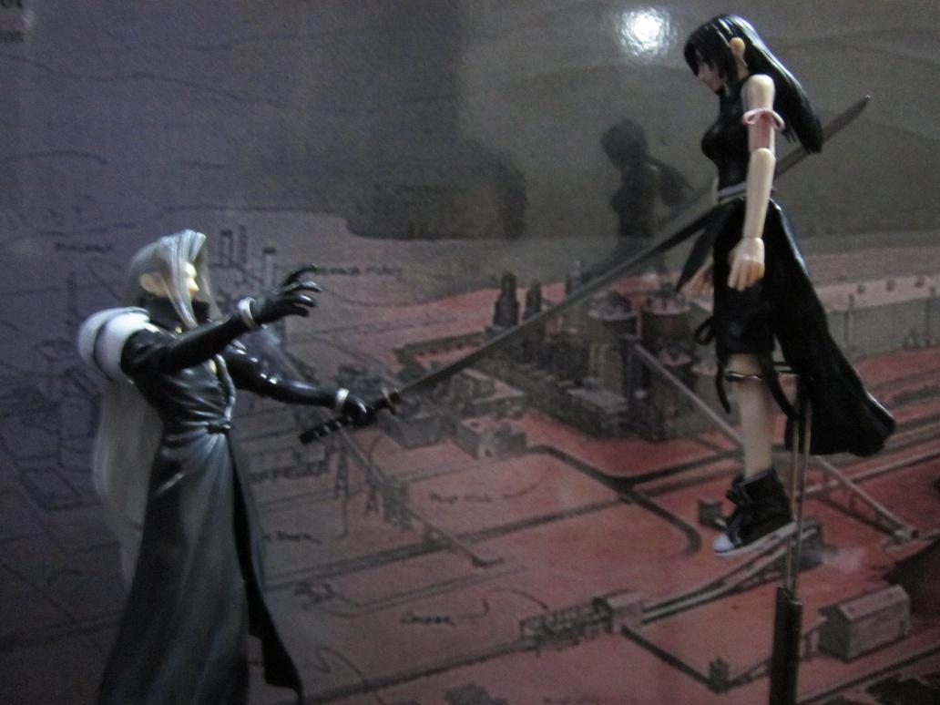 Sephiroth kills Tifa by Hsu-Hao-the-renegade