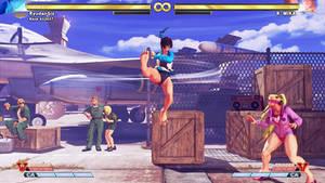 Street Fighter V Sakura Feet