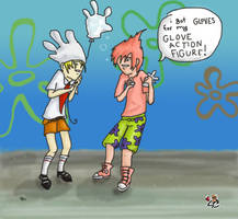 Spongebob and Patrick by helissong