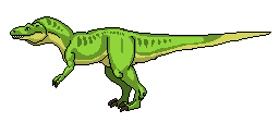 Pixel Dino by hail-the-oblivious