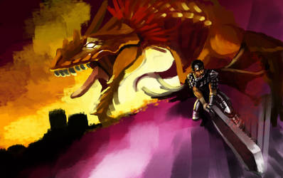 Dragon Slayer [WIP] by hail-the-oblivious