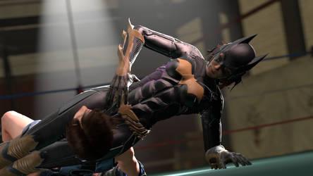 Batgirl scissors Asuka