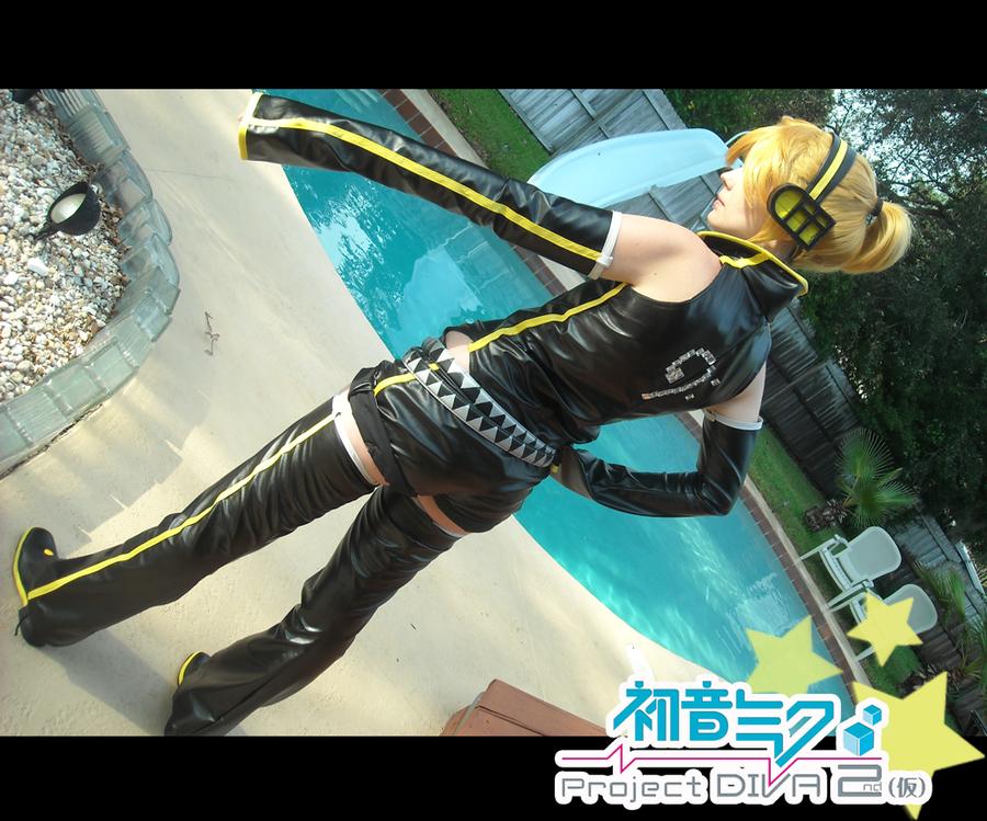 Kagamine Rin Meltdown Project Diva Project Diva 2nd Len Kagamine