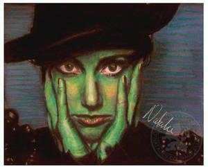 Wicked: Elphaba - Oil Pastels