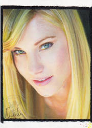 Heather Morris - Oil Pastels