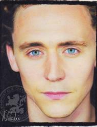 Tom Hiddleston - Oil Pastels by NataliesCourageClub