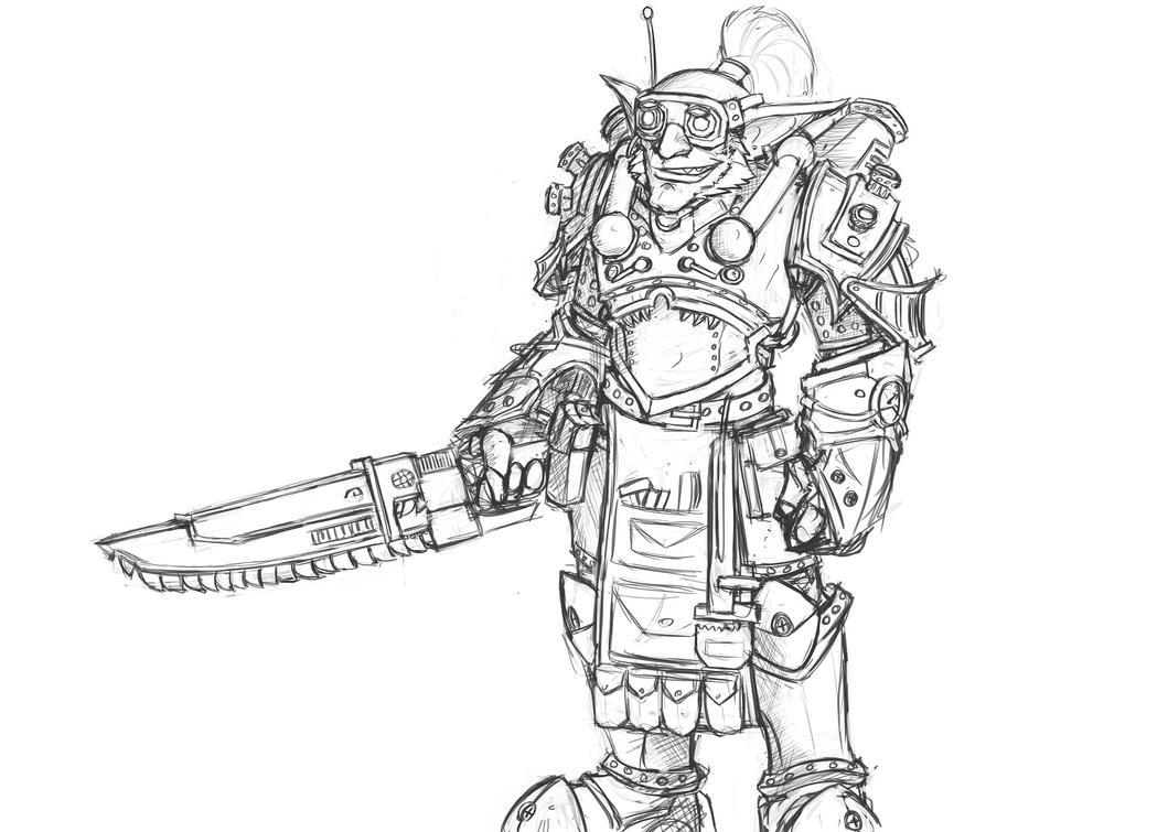 Boush sketch by SurealKatie
