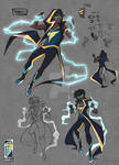 Static Shock Redesign: Page 1
