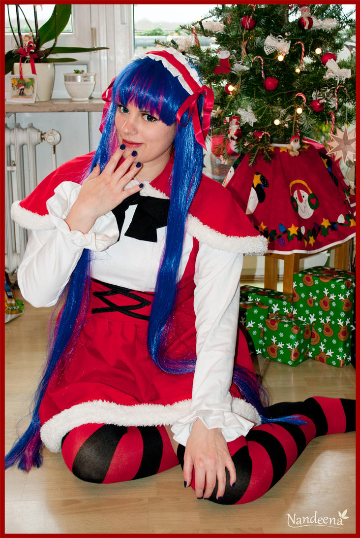 Merry Christmas from Stocking by Nandeena