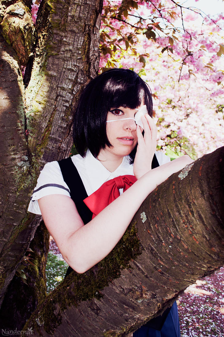 Another: Mei Misaki - eyepatch by Nandeena