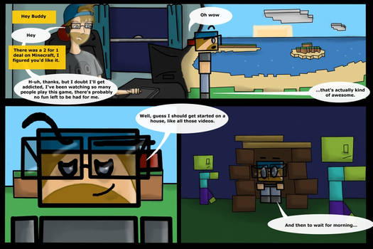 Point Taken No.1 Page 1 Zombies