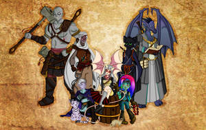 The Seekers Main Player Characters and NPCs