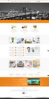 new Theme web design by amirking