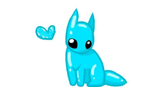 Cute Monster by splashysden
