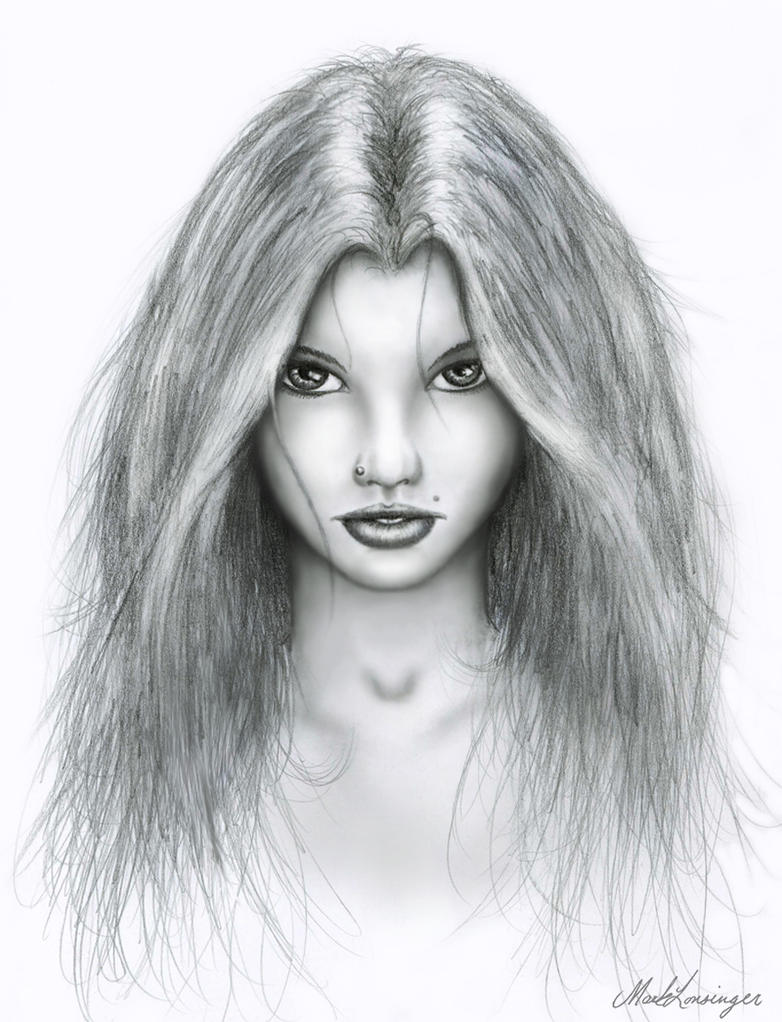 Face Sketch 2 by Dracoart on DeviantArt